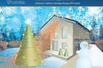 Linksmų šv. kalėdų ir Laimingų 2015 Naujųjų Metų!