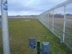 FMC 10 microwave detector installation length 98 meter