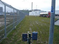 FMC 10 microwave detector detection zone width 3 meters